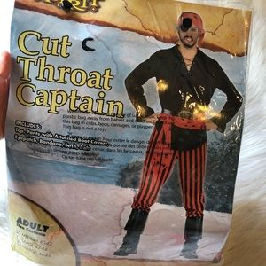 Cut throat captain costume